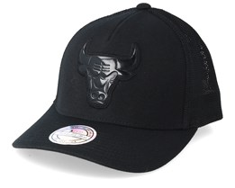 Chicago Bulls Zig Zag 110 Black Trucker - Mitchell & Ness