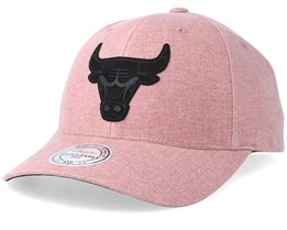 Chicago Bulls Erode Pink Adjustable - Mitchell & Ness