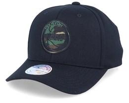 Houston Rockets Camo Logo Black/Camo 110 Adjustable - Mitchell & Ness