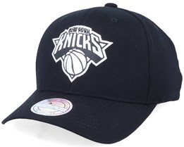 New York Knicks Outline Black/White Adjustable - Mitchell & Ness