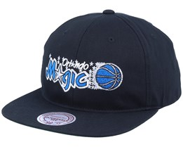 Orlando Magic Deadstock Throwback Black Snapback - Mitchell & Ness