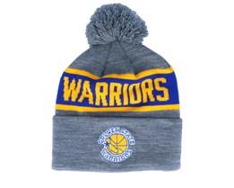 Golden State Warriors Team Tone Grey/Royal Pom - Mitchell & Ness