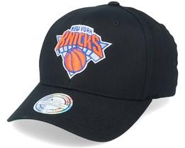 New York Knicks Team Logo NBA Black 110 Adjustable - Mitchell & Ness