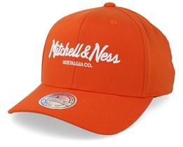 Own Brand Pinscript Candy Orange 110 Adjustable - Mitchell & Ness