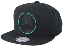 Boston Celtics Pop Black Snapback - Mitchell & Ness