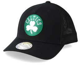 Boston Celtics Fuse 110 Black Trucker - Mitchell & Ness