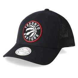 official photos a389f 0ca83 Mitchell   Ness Toronto Raptors Fuse 110 Black Trucker - Mitchell   Ness  CA  39.99