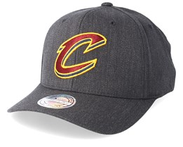 Cleveland Cavaliers Logo 110 Charcoal Adjustable - Mitchell & Ness