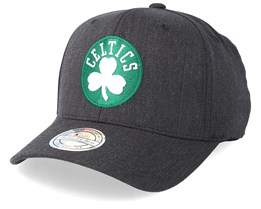 Boston Celtics Logo 110 Charcoal Adjustable - Mitchell & Ness