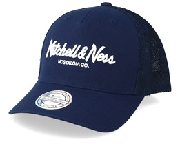 72269c104c0f0 Pinscript 110 Navy Trucker - Mitchell   Ness