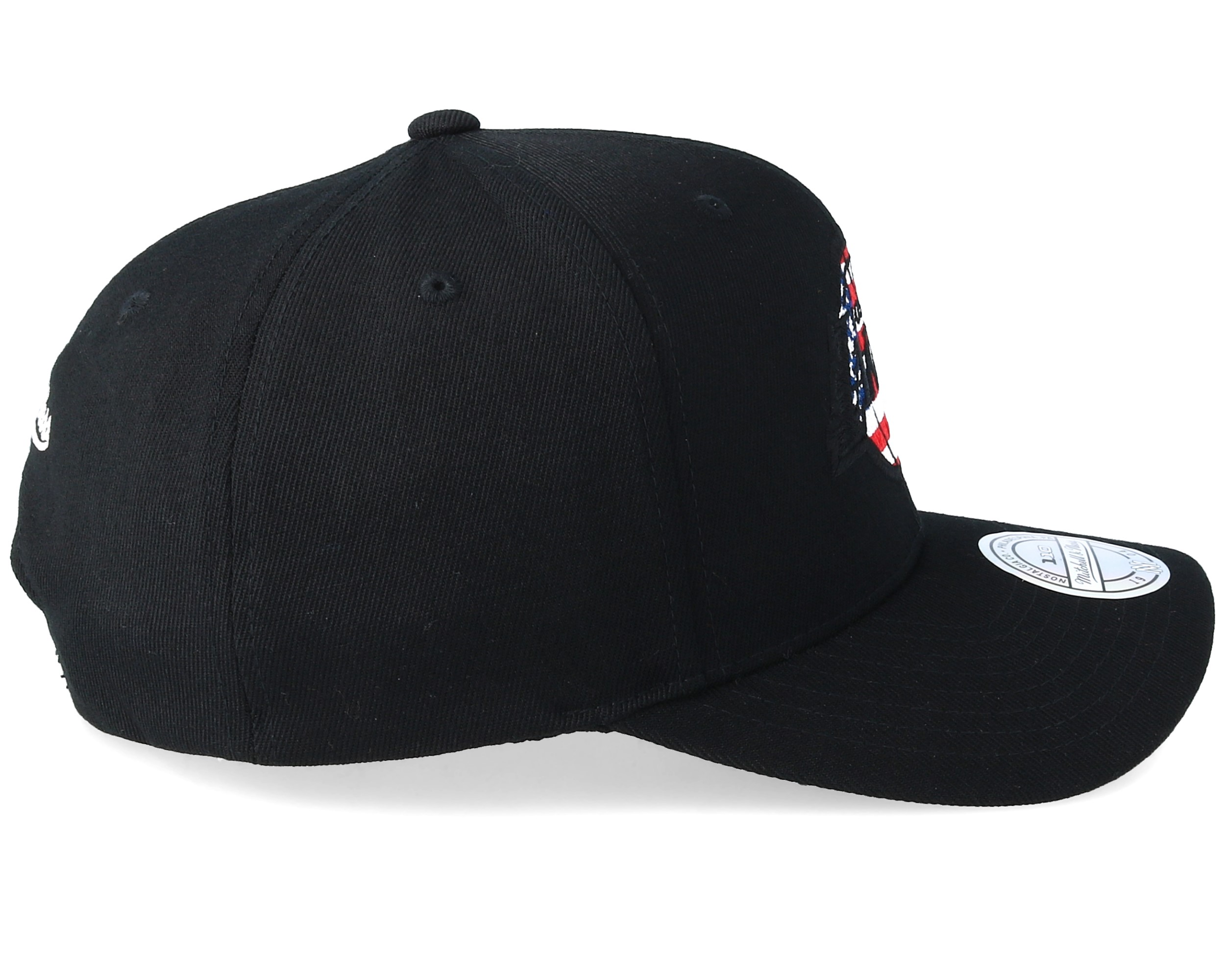 LA Lakers USA Logo 110 Black Adjustable