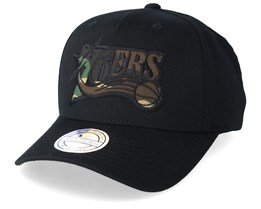 Philadelphia 76ers 110 Black/Camo Adjustable - Mitchell & Ness