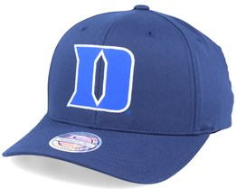 Duke Blue Devils Monochrome Navy 110 Adjustable - Mitchell & Ness