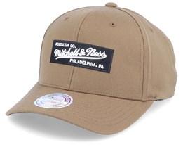 Own Brand Box Logo Rust 110 Adjustable - Mitchell & Ness