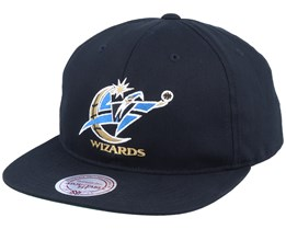 Washington Wizards Deadstock Throwback Black Snapback - Mitchell & Ness