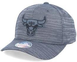 Chicago Bulls Woven Melange Charcoal 110 Adjustable - Mitchell & Ness