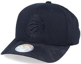 Toronto Raptors Black Out Black 110 Adjustable - Mitchell & Ness
