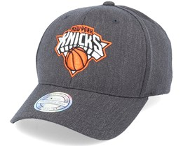 New York Knicks Heather Pop Charcoal 110 Adjustable - Mitchell & Ness