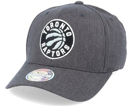 Toronto Raptors Heather Pop Charcoal 110 Adjustable - Mitchell & Ness