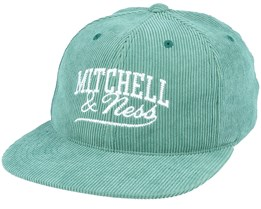 Own Brand Summer Cord Green Snapback - Mitchell & Ness