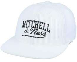 Own Brand Summer Cord White Snapback - Mitchell & Ness