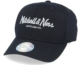 Own Brand Metallic Pinscript Black/Silver 110 Adjustable - Mitchell & Ness