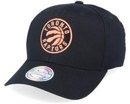 Toronto Raptors Black/Orange 110 Adjustable - Mitchell & Ness
