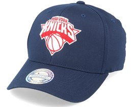 New York Knicks Navy/Red/White 110 Adjustable - Mitchell & Ness