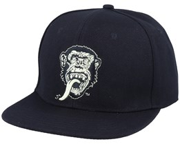 Face On Black Snapback - Gas Monkey