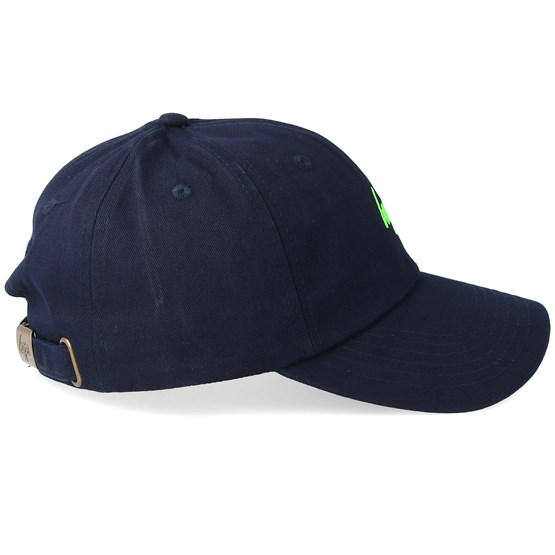 f5fdec01 Green Neon Flash Dad Hat Navy/Neon Green Adjustable - Hype caps |  Hatstore.co.uk