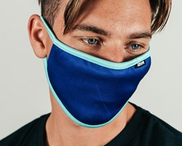 Blue & Light Blue Face Mask - Hype