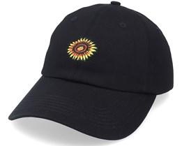 Sunflower Cap Black Dad Cap - Santa Cruz