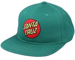 Classic Dot Evergreen Snapback - Santa Cruz