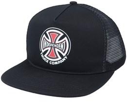 Co. Mesh Black/Black Trucker - Independent