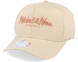 Own Brand Metallic Pinscript Khaki/Copper 110 Adjustable - Mitchell & Ness