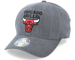 Chicago Bulls Washout Snapback Black 110 Adjustable - Mitchell & Ness