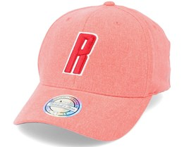 Houston Rockets Washout Snapback Red 110 Adjustable - Mitchell & Ness