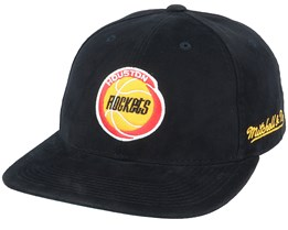Houston Rockets Dropback Deadstock Black Snapback - Mitchell & Ness