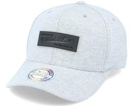 Own Brand Melange Knit Snapback Heather Grey Adjustable - Mitchell & Ness