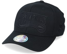 Philadelphia 76ers Tonal Jersey Black 110 Adjustable - Mitchell & Ness