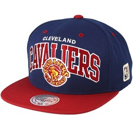 acc77027e08610 Mitchell & Ness Cleveland Cavaliers Team Arch Navy/Red Snapback - Mitchell  & Ness ₹ 2,500