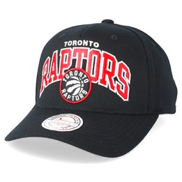 bea17954 Toronto Raptors Team Arch Pinch Panel Black 110 Adjustable - Mitchell & Ness  caps | Hatstore.co.uk