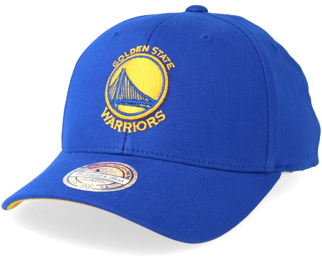 a0cb9509 Golden State Warriors Team Arch Low Pro Blue 110 Adjustable - Mitchell &  Ness caps - Hatstoreworld.com