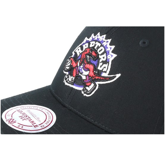c21d3c0a Toronto Raptors Team Logo Low Pro Black Adjustable - Mitchell & Ness caps -  Hatstoreaustralia.com