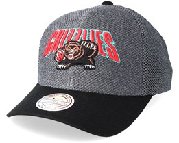 Vancouver Grizzlies Flashback Charcoal/Black 110 Adjustable - Mitchell & Ness