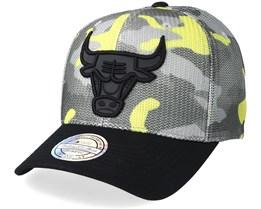Chicago Bulls Flou Camo 110 Adjustable - Mitchell & Ness