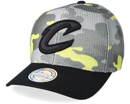 Cleveland Cavaliers Flou Camo 110 Adjustable - Mitchell & Ness