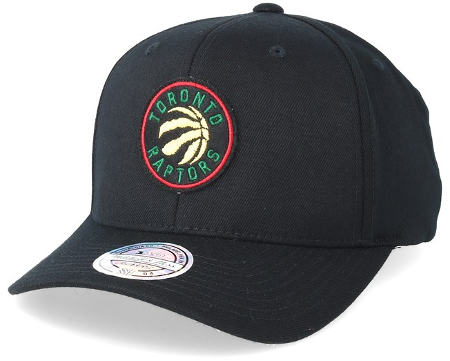 7fa8ab9f7867b9 Toronto Raptors Luxe Black 110 Adjustable - Mitchell & Ness caps -  Hatstorecanada.com