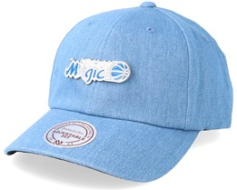 Orlando Magic Hwc Pin Strapback Denim Adjustable - Mitchell & Ness
