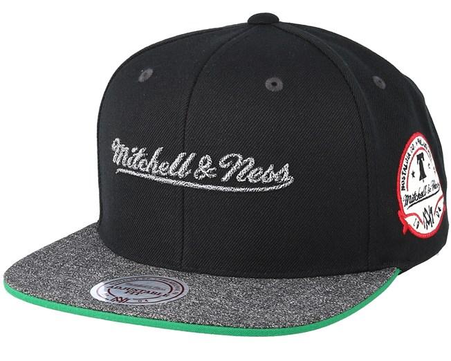0ed38c70d8414 Own Brand Melange Patch Black Snapback - Mitchell   Ness caps -  Hatstoreworld.com